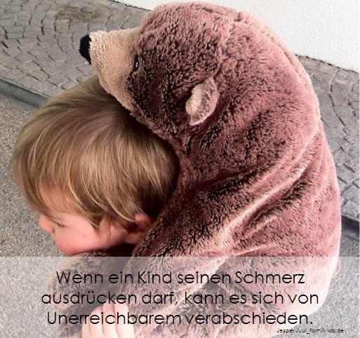 Wenn Ein Kind Seinen Schmerz Ausdrücken Darf Kann Es Sich Von