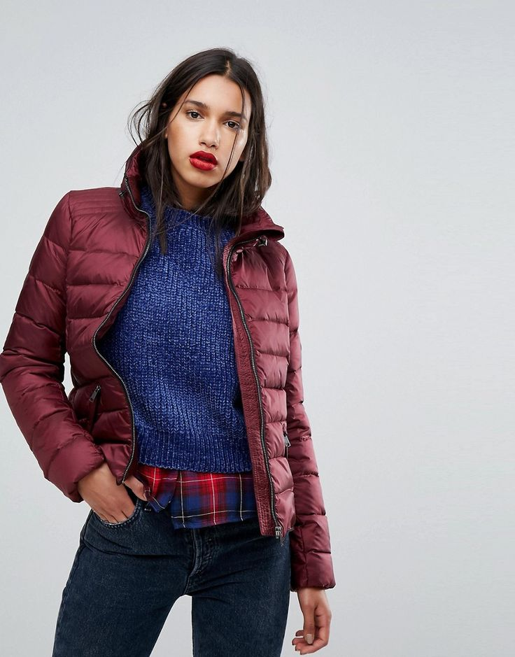 Vero Moda Down Padded Jacket - Red