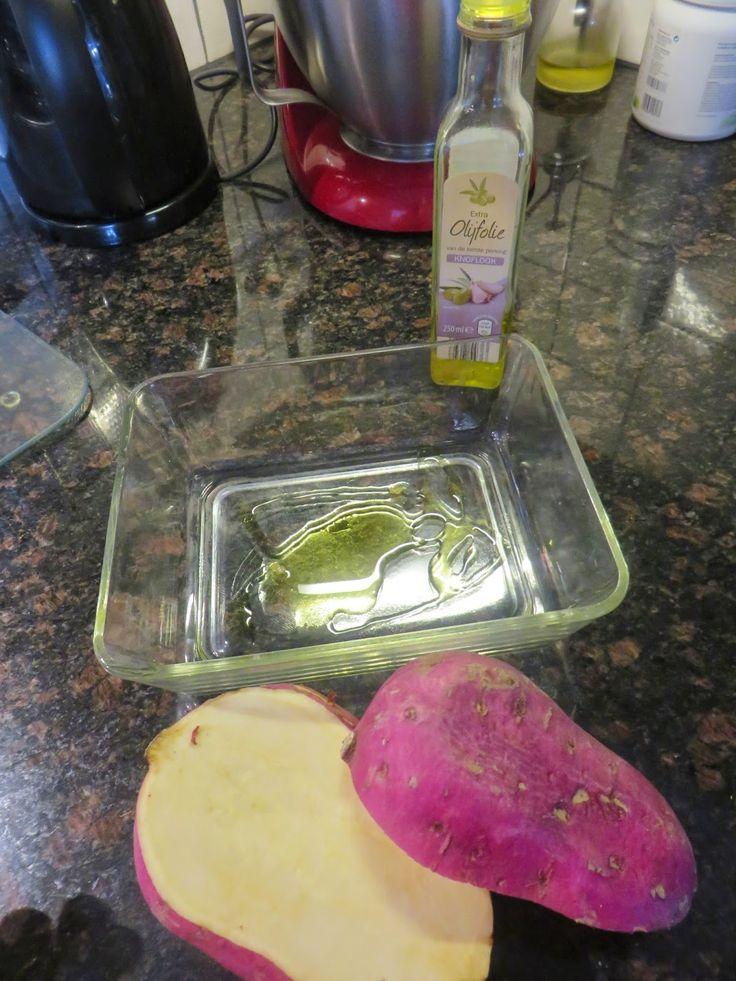 Anita's potjes en pannen: Zoete aardappel, makkelijke en gezonde groente!