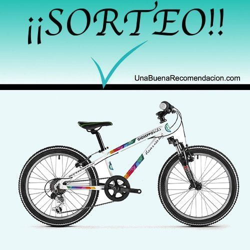Sorteo Bicicleta Gioseppo Kids Mondraker (340€)