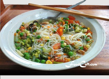 'Tis the season for #fresh #vegan #vegetablesoup in an instant.   15 minutes for this #vegetable #soup from fresh #vegetables! #recipe @ http://www.foodcult.cominstantvegetablesoup.php  - #food matters!