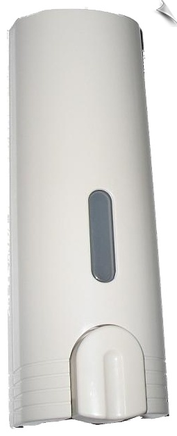 Refillable, suitable for showers  Made of strong ABS plastic, soap dispenser $9
