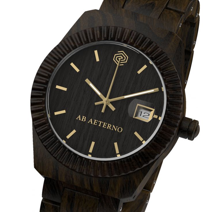 AB Aeterno Ξύλινο ρολόι | John-Andy.com