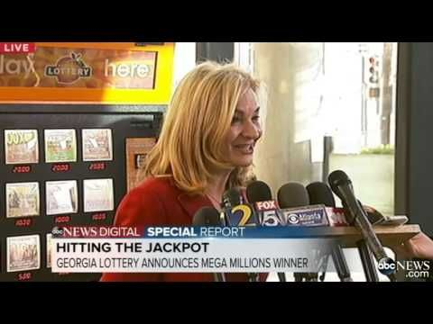 ▶ Georgia Lottery Announces Mega Millions Lottery Winner - YouTube