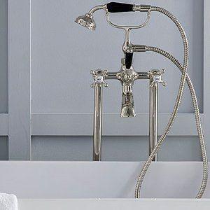 Edwardian Bath Mixer Set - Nickel finish.jpeg