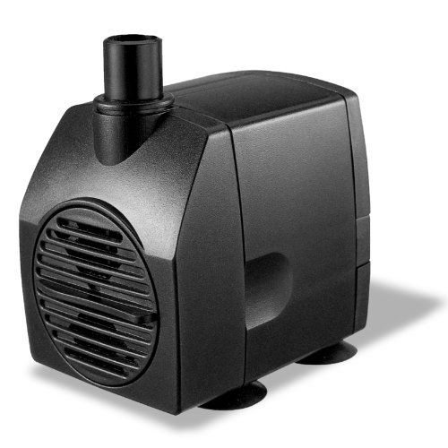 Algreen 130GPH Statuary Fountain Pump for Water Features by Algreen. $21.32. Statuary Fountain- Pumps 130 Gallons Per Hour with flow control dial and is a U.L Listed Performance Proven Pump. Excellent for Hydroponics/ Ponds and Fountains. Statuary fountain-pumps 130 gallons per hour with flow control dial and is a u.l listed performance proven pump. Excellent for hydroponics/ponds and fountains. Comes with 1 year warranty. 4 suction cups hold pump to desired surface...