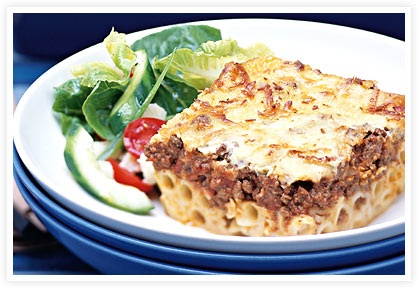 Greek Lasagna