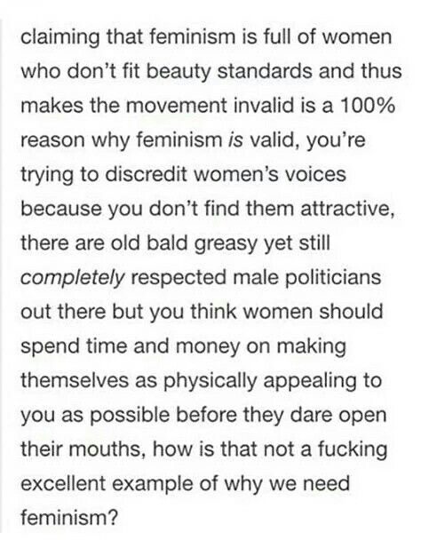 An example of why we need feminism