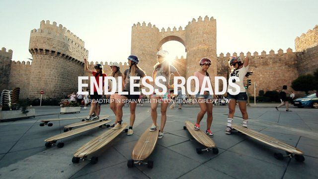 Complete movie edition that gathers the four chapters that composed Endless Roads. 7 female riders, 1 van, 15 days, 4.300 km, 416 GB of raw material… This film documents the adventure of the trip, portraying the girls, their lifestyle and their passion for longboard. · Versión completa que reúne los cuatro capítulos que compusieron Endless Roads. 7 riders, 1 furgoneta, 15 días, 4.300 km, 416 GB de imágenes… Esta película ...