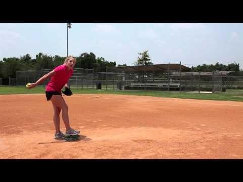 Amanda Scarborough - softball pitching mechanics using your lower body