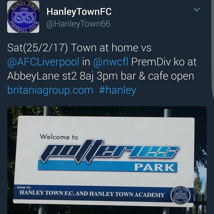 Tomorrow's game sees AFC look to continue their recent good form against a strong Hanley Town side. Up the reds