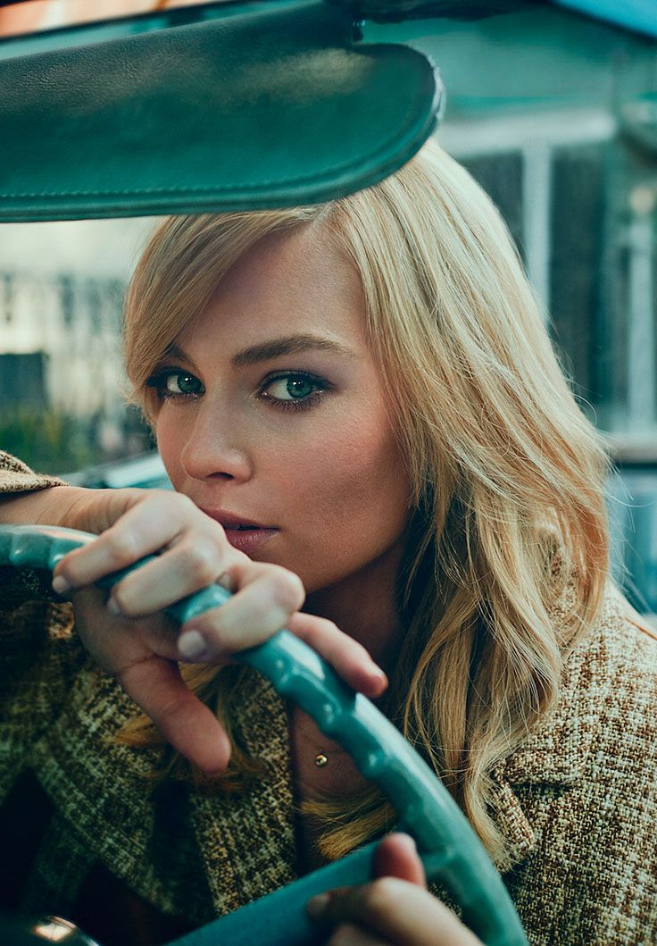 Margot Robbie by Beau Grealy for Marie Claire • 2015
