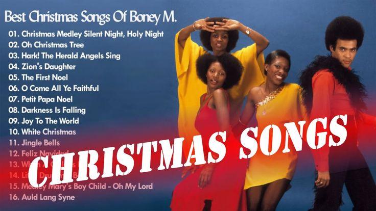 Best Christmas Songs Of Boney M. - Christmas Songs Greatest Hits - YouTube