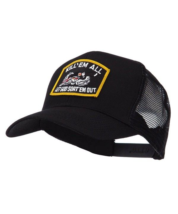 Skull and Choppers Embroidered Military Patched Mesh Cap Kill ... 0cbd32932bf0