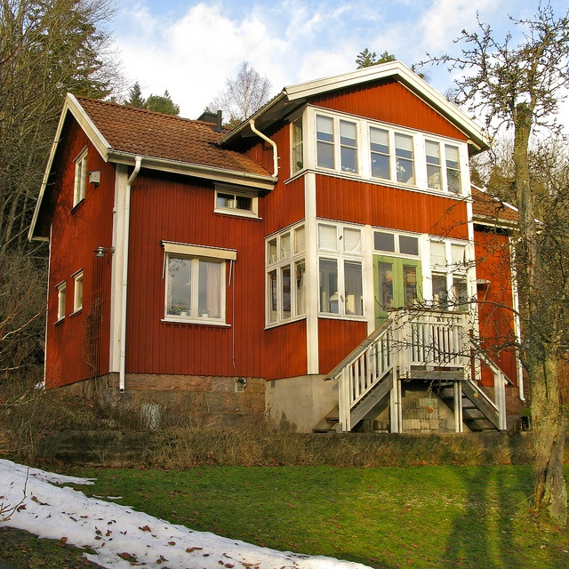 Swedish Style House 128 best red houses images on pinterest | red houses, swedish