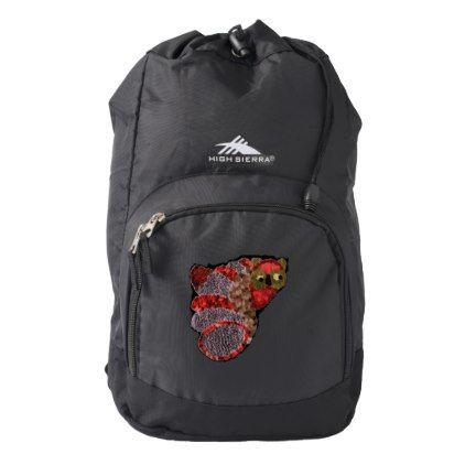 Owl High Sierra Backpack  $34.95  by QuirkyDots  - custom gift idea