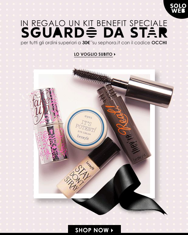 [News] Sephora - Kit Benefit must have in regalo