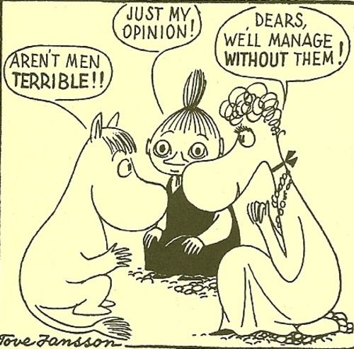 Other times, you just need to talk to your friends. | 50 Lessons That Moomins Can Teach You About Life