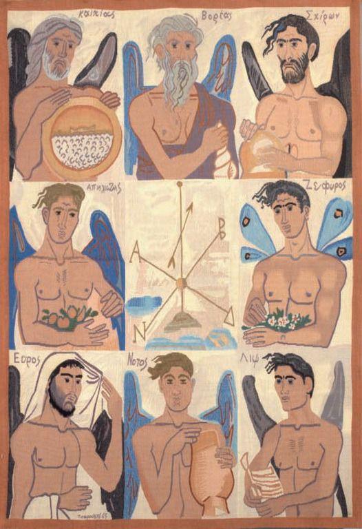 Τσαρούχης Γιάννης – Yannis Tsarouchis [1910-1989] Αέριδες, 1980 | paletaart
