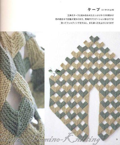 Domino Knitting Blanket Pattern : 203 best images about Domino knitting - dominostrikk on ...