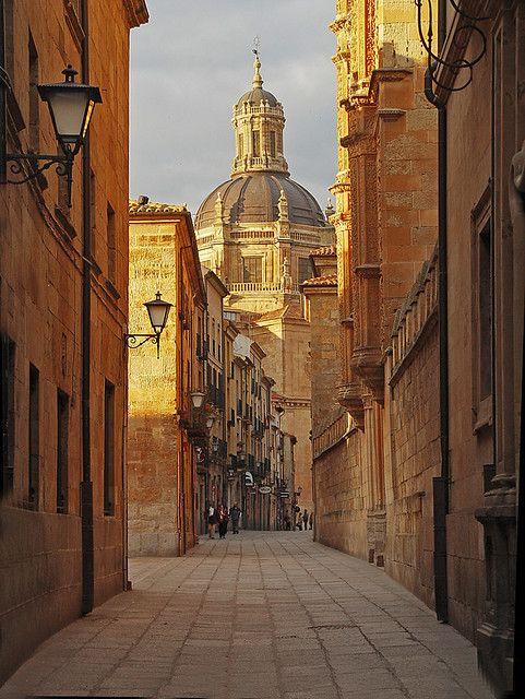 Salamanca, Spain, calle libreros