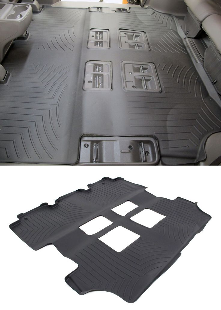 Functional, custom floor mat for the Honda Odyssey keeps interior clean and safe from water and debris.