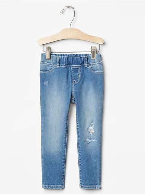 Toddler Girls' Jeans: boot-cut, wide leg, straight, skinny, embroidered jeans at babyGap | Gap