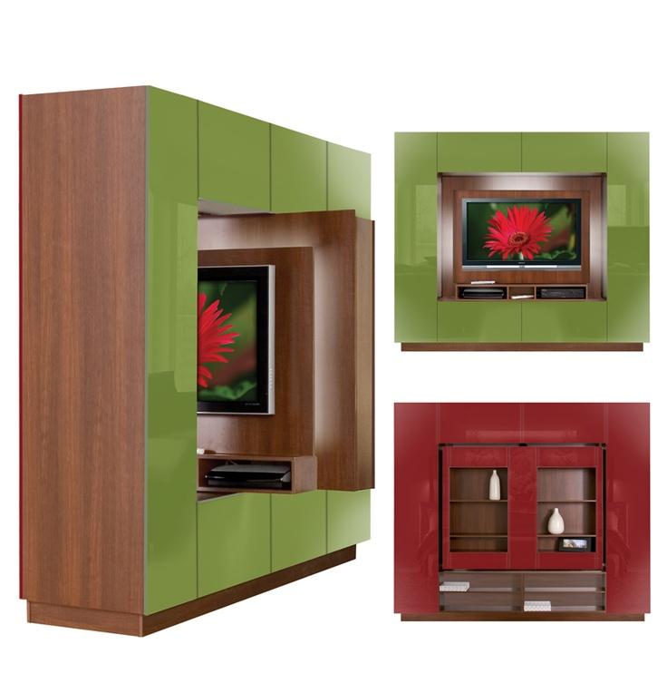 Bronson Room Divider - Wall Unit Room Divider