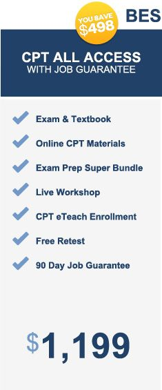 "NASM CPT Programs/Pricing | I did ""CPT Online Classroom"" for $999 (no live portion; no job guarantee nor experience) 