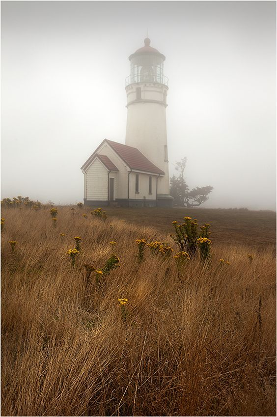 Lighthouse, Oregon - Reminds me of Anne of Green Gable/Tales of Avonlea