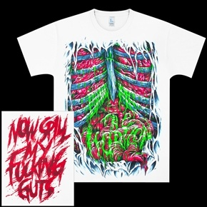 Official Bring Metal The Horizon spill my guts shirt.