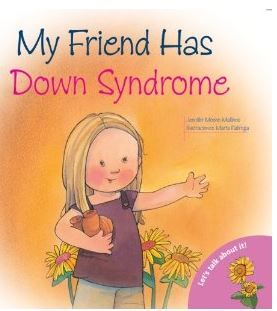 """Nice book for children: """"My Friend Has Down Syndrome"""" #downsyndrome"""