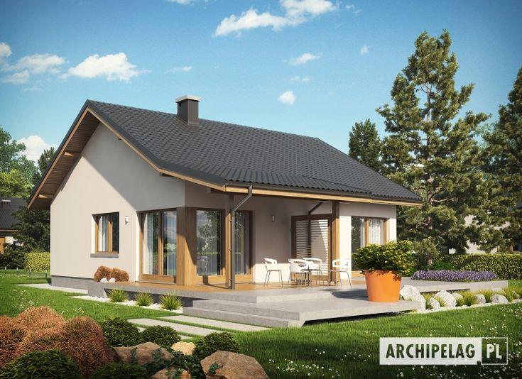 แบบบ้านชั้นเดียวขนาด 2 ห้องนอน รูปทรงเรียบง่าย ในงบประมาณไม่เกินหนึ่งล้านบาท | NaiBann.com