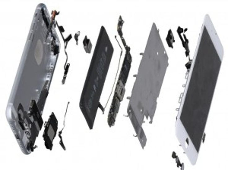 Exploded iPhone 7 (image: IHS Markit)