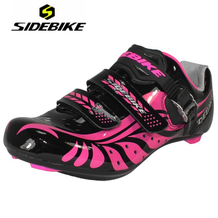 68.99$  Watch now - http://ali347.worldwells.pw/go.php?t=32660869228 - SIDEBIKE Road Cycling Shoes Bike Black Self-locking Ciclismo Zapatillas Deportivas Mujer Bicicleta Carretera Sapato Feminino