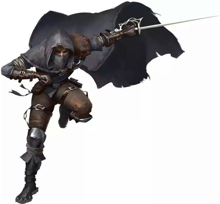 Black shadow - thief                                                                                                                                                     More