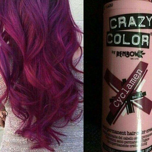 Crazy Color Spray By Renbow Violet Red Cyclamen No 41