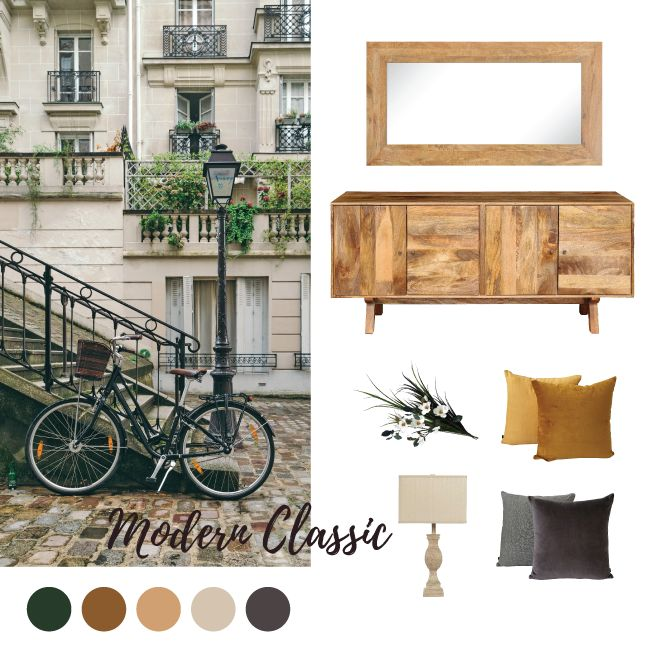 Modern Classic Style is not as hard as you think. Easily combine the right colours, furniture & homewares.
