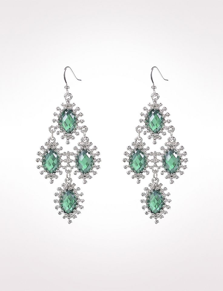Misses Trend S Textured Faceted Earrings Dressbarn