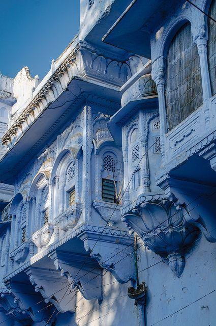 Pushkar, Rajasthan, India #BlueSky