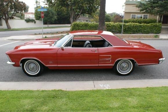 1963 Buick Riviera, side