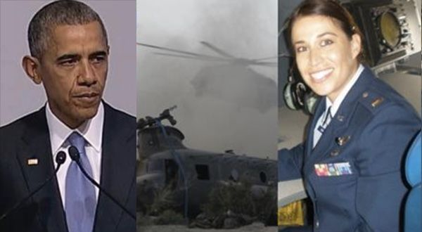 By: Prissy Holly A highly decorated Air Force officer is breaking her silence about the disturbing incident that occurred back in 2011 that marked the deadliest attack on Navy SEALS in U.S. history. She claims that Obama's administration covered up what happened to 38 of our warriors in Afghanistan, when a Chinook helicopter crashed and […]