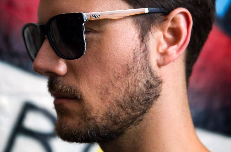 """Our """"Scout"""" sunglasses are an evolution of the Wayfarer style, and look just as good on the guys as they do on the girls..."""