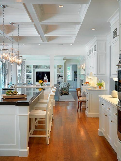 Beautiful Open Kitchen Home Pinterest