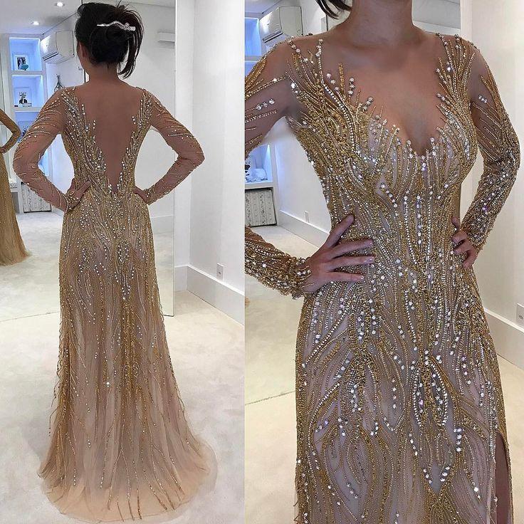 "14.6 mil curtidas, 457 comentários - Isabella Narchi (@isabellanarchi) no Instagram: ""Maravilhosaaa!!! Detalhes deste vestido lindo!! ✨❤ #atelierisabellanarchi #isabellanarchicouture…"""