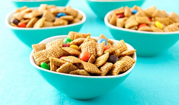 Chex Mix—a crowd pleasing party snack!