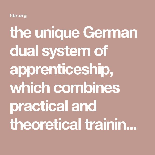 the unique German dual system of apprenticeship, which combines practical and theoretical training in non-academic trades. The Hidden Champions invest 50% more in vocational training than the average German company.
