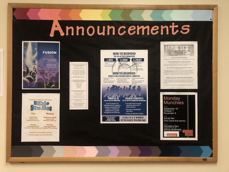 Bulletin News Board Ideas