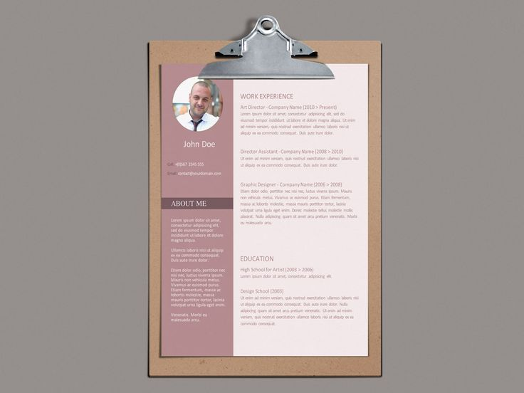 The 25+ best Free resume templates word ideas on Pinterest Cover - free resume templates in word