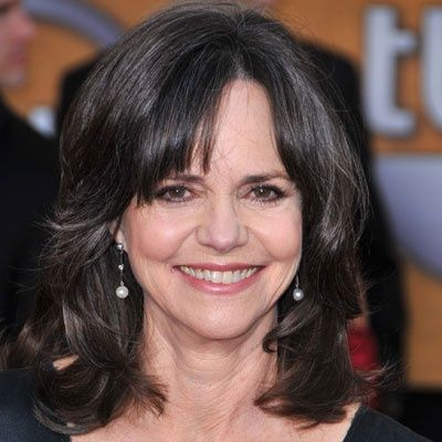 Hairstyles for Over 60 Year Olds | Sally Field, 63, has been working in Hollywood for over 40 years,